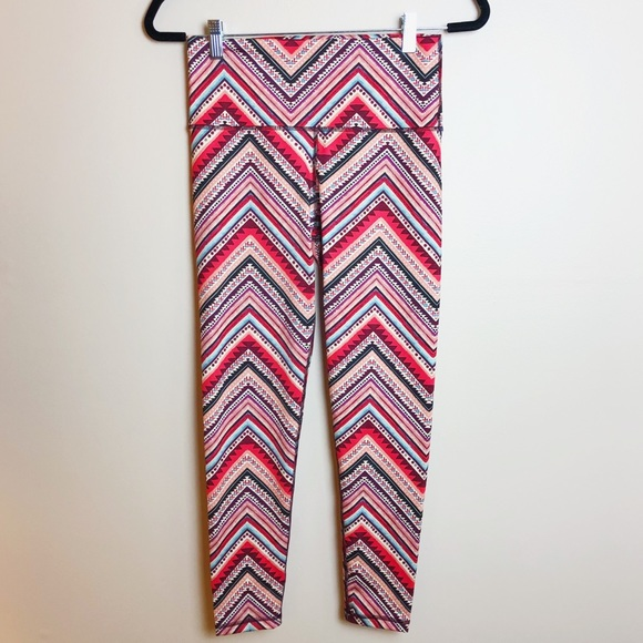 68e2bdb033406 Aerie Pants | Chill Play Move Aztec Print Legging | Poshmark
